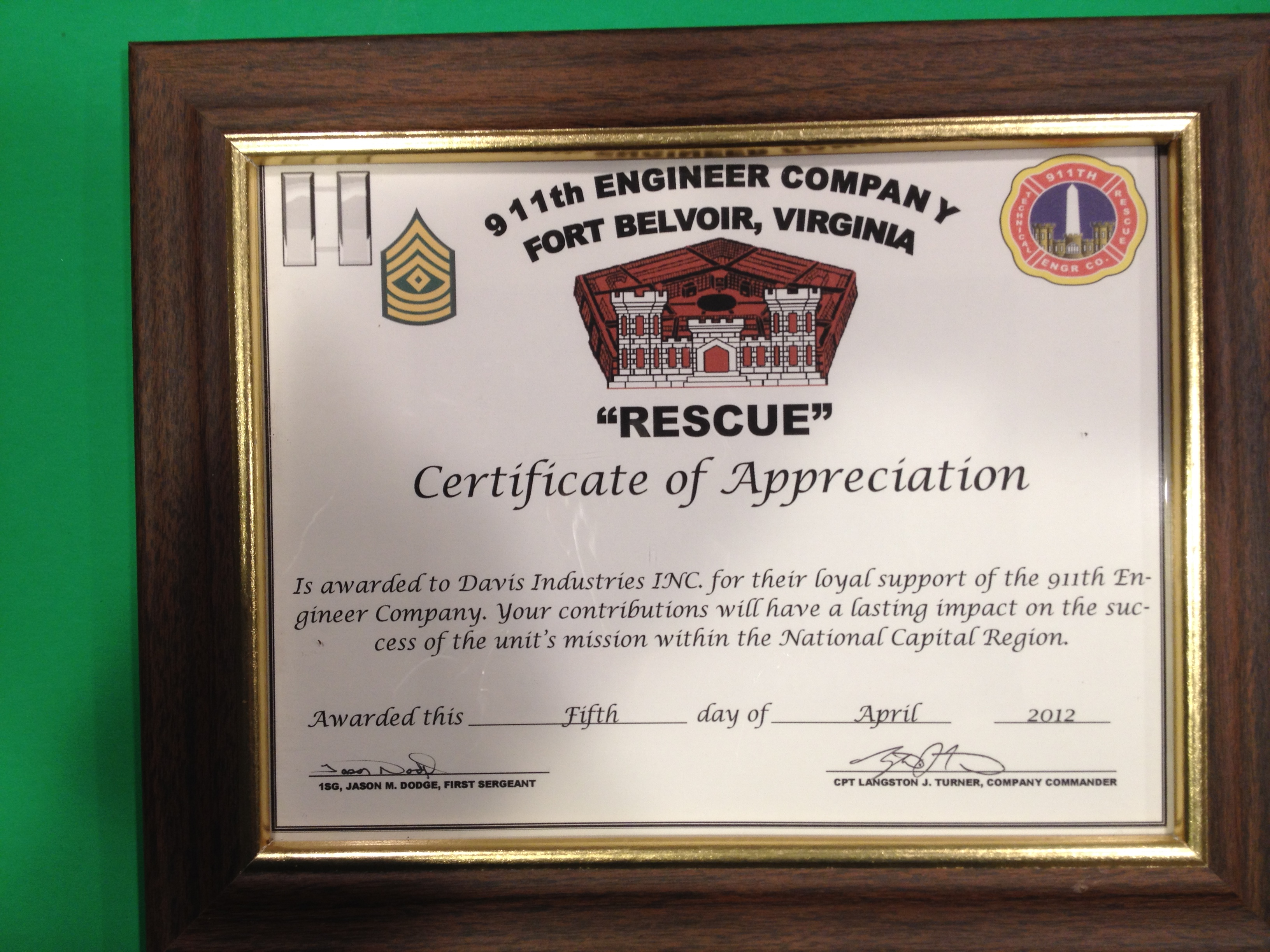 911th Engineering Company