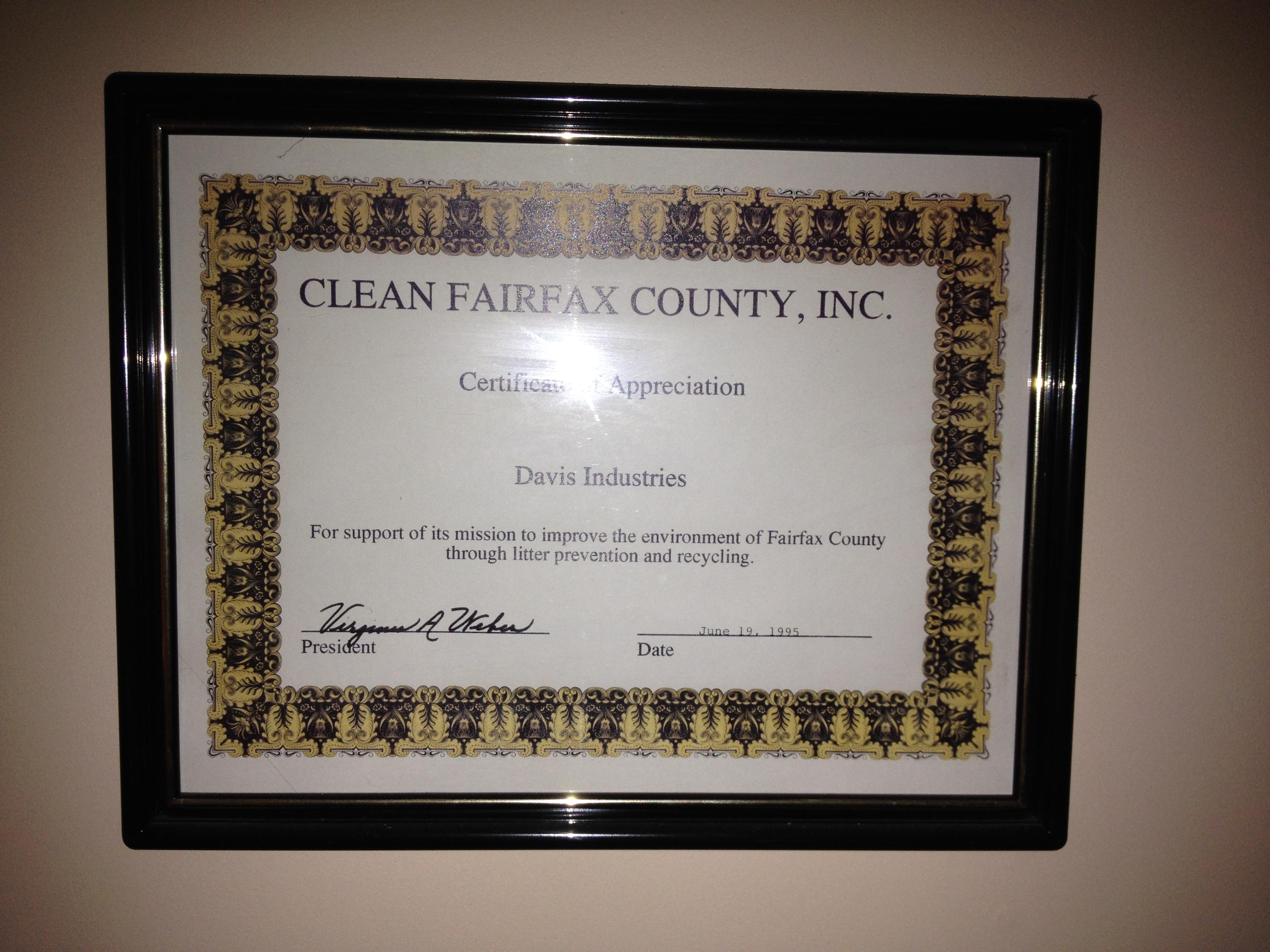 Clean Fairfax
