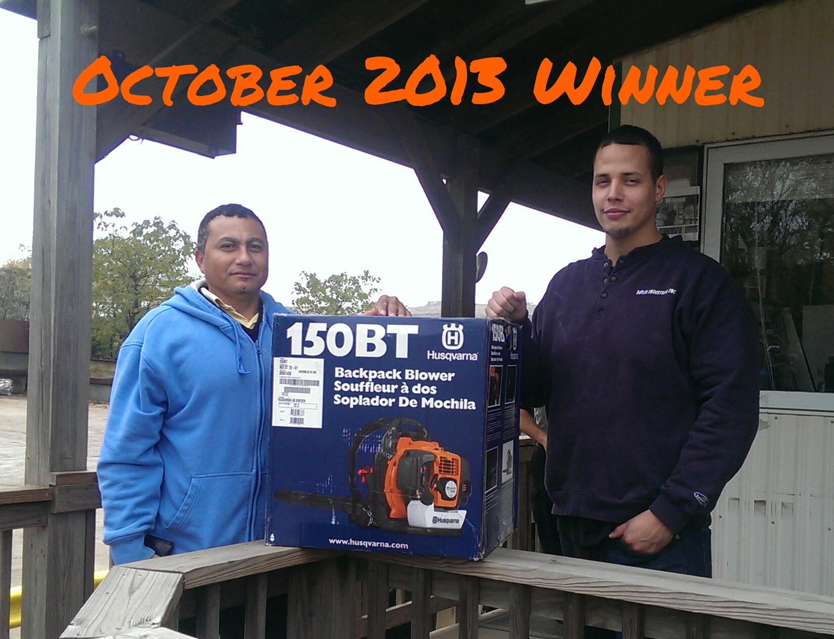 Customer Appreciation December Winner