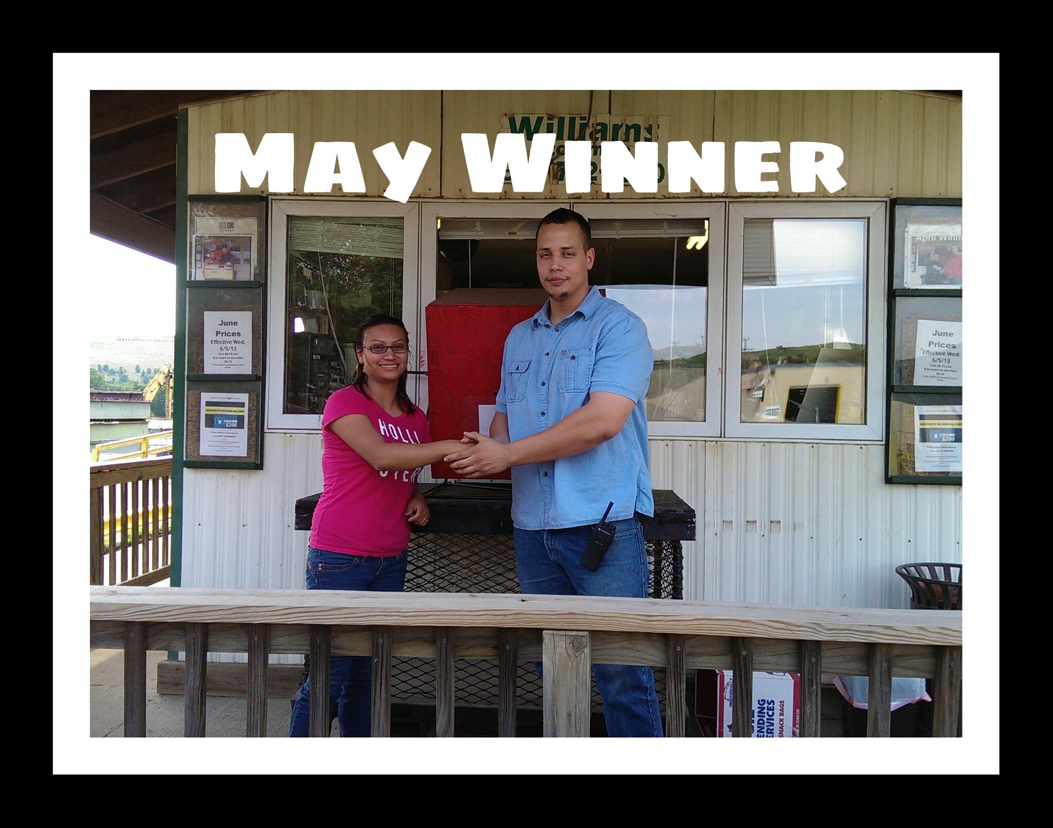 Customer Appreciation May Winner